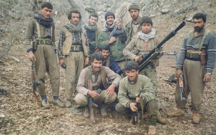 PYD elebaşı Mazlum Kobani'nin PKK kampından yeni fotoğrafları geldi