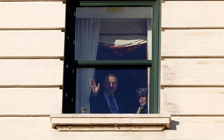 Hulusi Akar Reis'i buraya getir sloganları! Erdoğan ABD'de cama çıktı