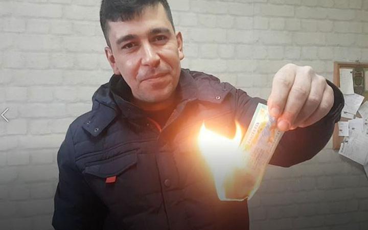 'Haram' deyip piyango vuran biletini yaktı
