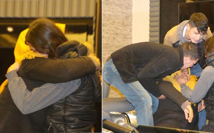 HDP önündeki eylemden bir güzel haber daha kızına kavuşan anne sevinçten bayıldı