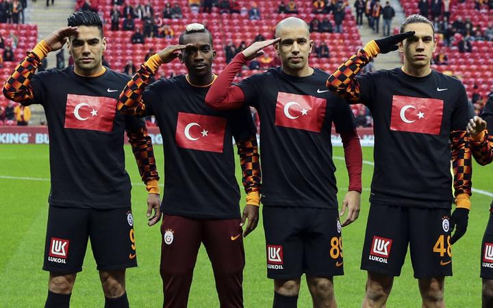 Galatasaray İdlib şehitleri unutmadı