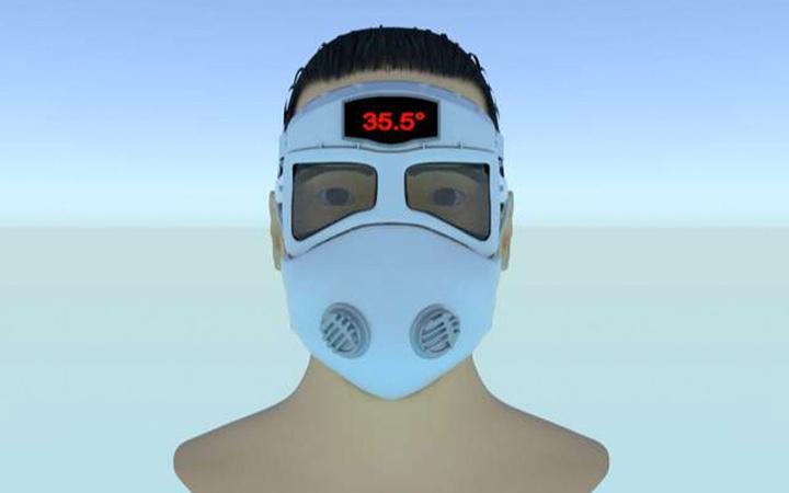 Van'daki firma Kovid-19'a karşı akıllı maske tasarladı! Dikkat çeken özellikleri var
