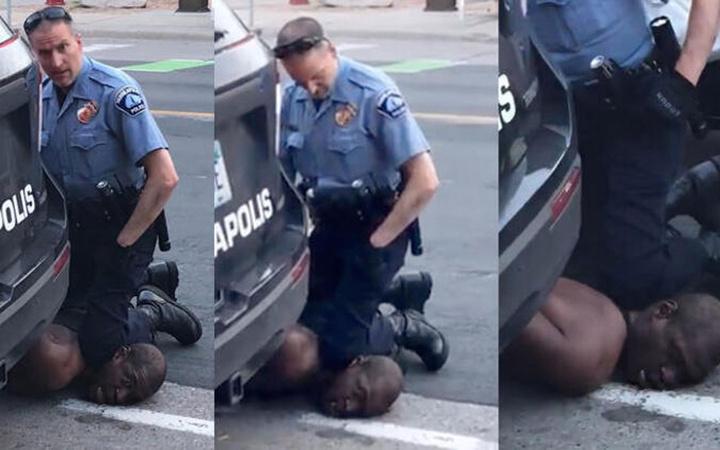 ABD'yi yakan cinayet! George Floyd 8 dakika 48 saniyede can çekişe çekişe öldü