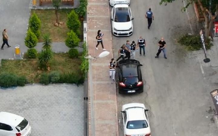 Adana'da FETÖ'nün finans ayağına darbe! Operasyon drone ile görüntülendi