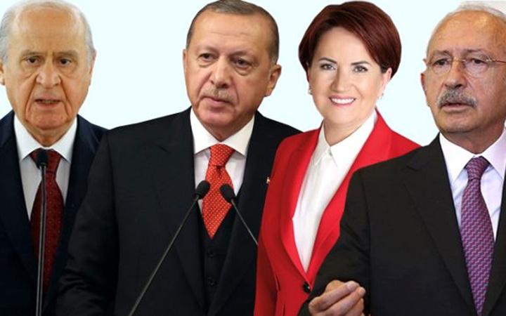 Kabinedeki iki bakan, Erdoğan hariç bütün liderleri solladı! İşte bomba liste