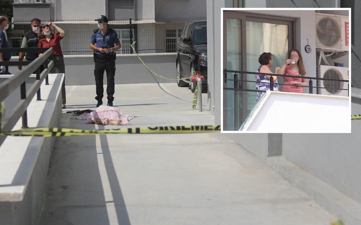 Adana'da 13'üncü kattan düşerek öldü komşuları kahve içerek onu izledi