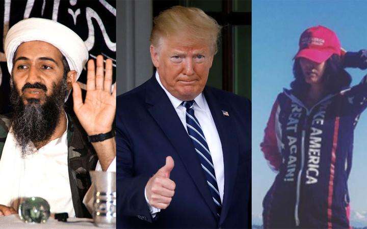 Usame Bin Ladin'in yeğeninden Trump'a övgü! Yeni bir 11 Eylül'den ancak o korur