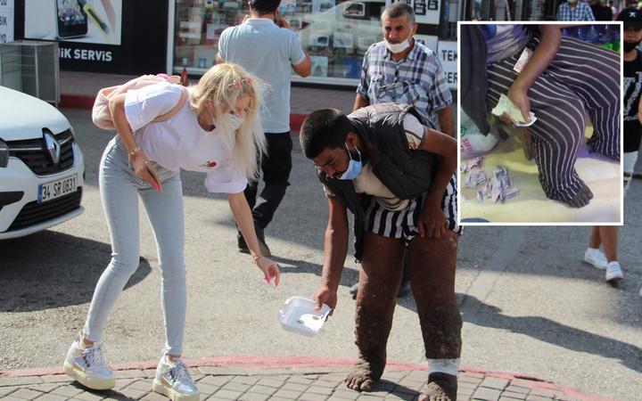 Antalya'da dilenci meydan okudu beni vali kaymakam tanıyor sen kim oluyorsun