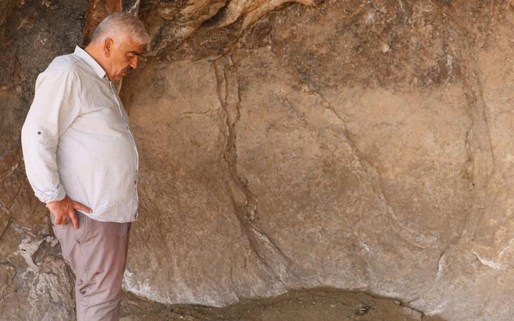 Sivas'ta köylüler canlısını hiç görmemişlerdi ölüsünü görünce şaşkına döndüler