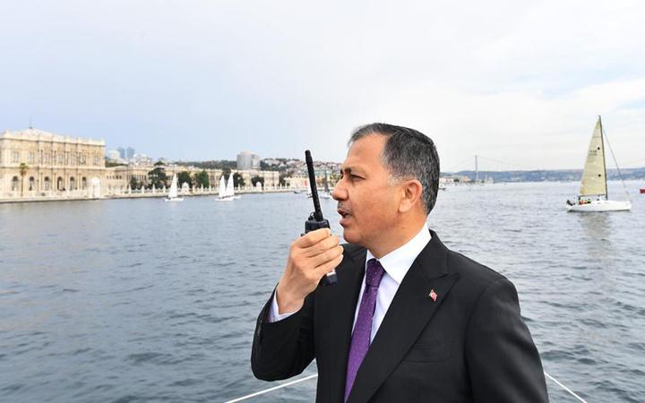 Cumhurbaşkanlığı Uluslararası Yat Yarışı İstanbul Boğazı'nda başladı 4 gün sürecek