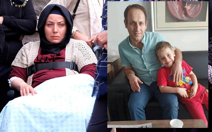 Konya'da kaldırımda yürüyen aileden sadece o kaldı 'Kıyamet kopuyor zannettim'