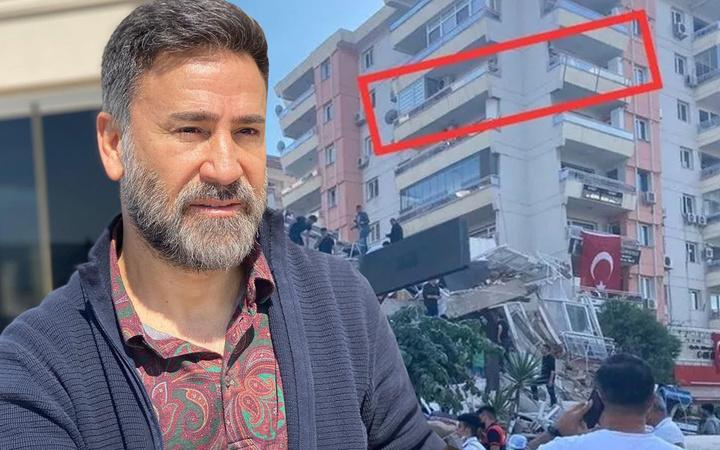 İzmir depreminde İzzet Yıldızhan hayatının şokunu yaşadı! Meğer yıkılan binanın...