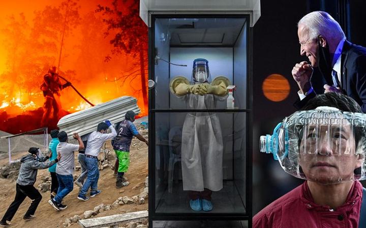 2020'ye damga vuran inanılmaz fotoğraflar! AFP yılın fotoğraflarını seçti