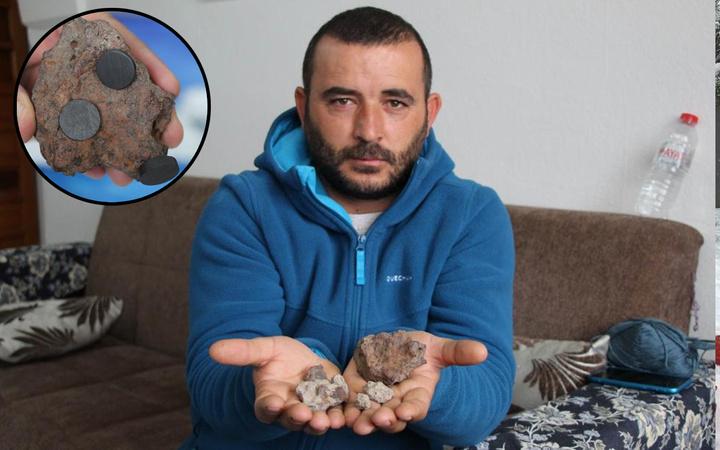 Nevşehir'de bahçede servet buldu ağırlığından kuşkulandı: Yanık kokusu geldiği hissettim