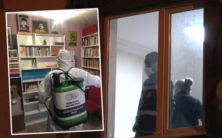 İstanbul Esenyurt'ta HDP ilçe binasına gece baskını! 6 saatlik armadan çuvallarla belge ele geçti