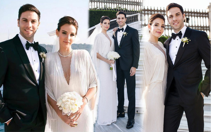 Hamilelik iddiasıyla olay olan Aslışah Alkoçlar evlendi! Hülya Koçyiğit'in torunu