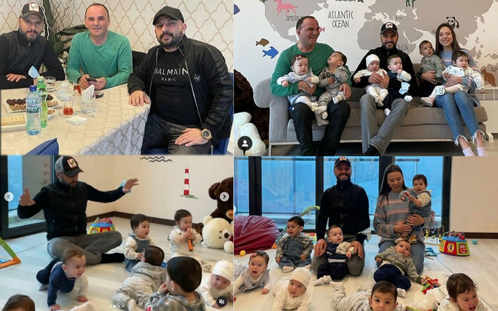 Metro Turizm'in firari patronu Galip Öztürk'ü ve 10 çocuğunu Alişan ziyaret etti!