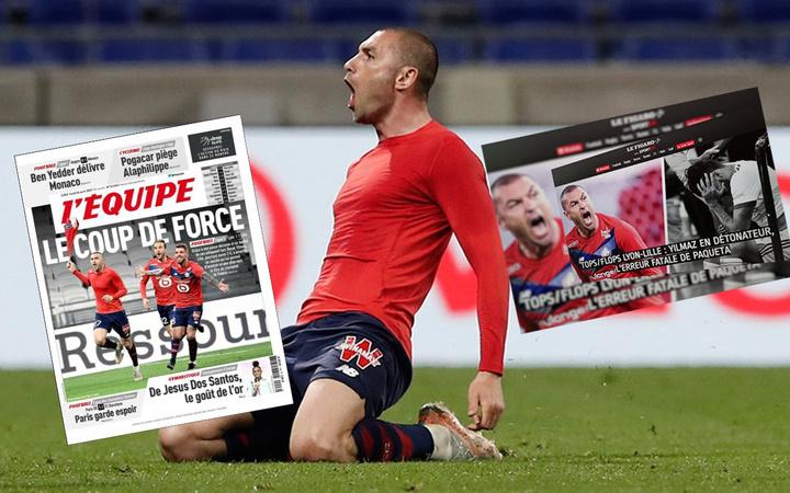 Fransa'da Burak Yılmaz manşetleri: Herkes kahramanın önünde eğiliyor