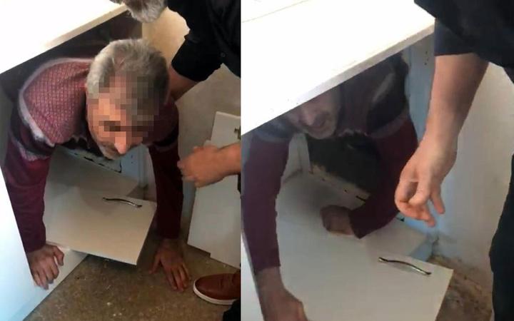 Şeytanın aklına gelmez! İzmir'de cinayet şüphelisi mutfak dolabındaki gizli bölmede yakalandı