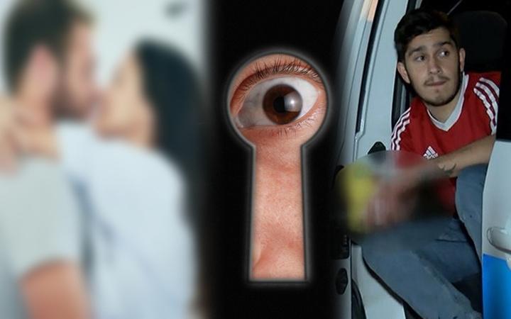 Ankara'da annesinin odasından ses duyan genç delikten bakınca şok oldu! Çıplak halde...