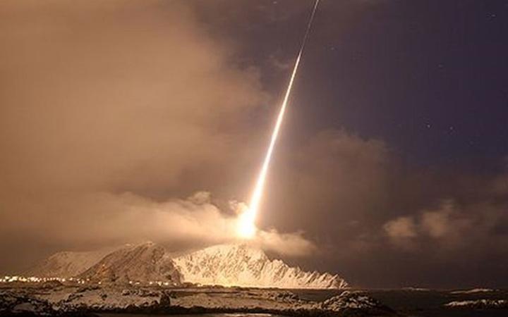 NASA Black Brant 12 roketini uzaya gönderdi
