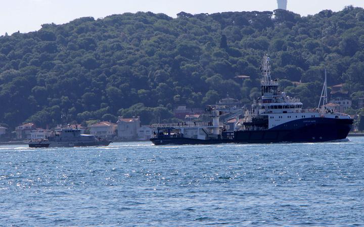 İstanbul Boğazı'nda sıcak saatler! Rus ve Hollanda savaş gemileri boğaz girişinde karşı karşıya geldi