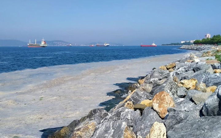 Marmara'da 2 günde 392 metreküp müsilaj toplandı