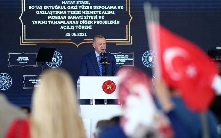Cumhurbaşkanı Erdoğan Hatay Stadı'nın açılışına katıldı