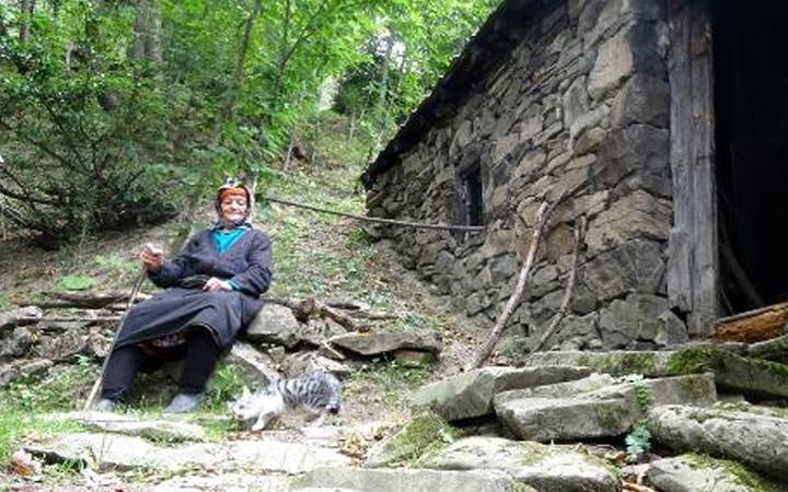 Trabzon'da 37 yıldır yaylada yaşıyor! Türk nine İtalya'dan ödül aldı hayatı çok ilginç