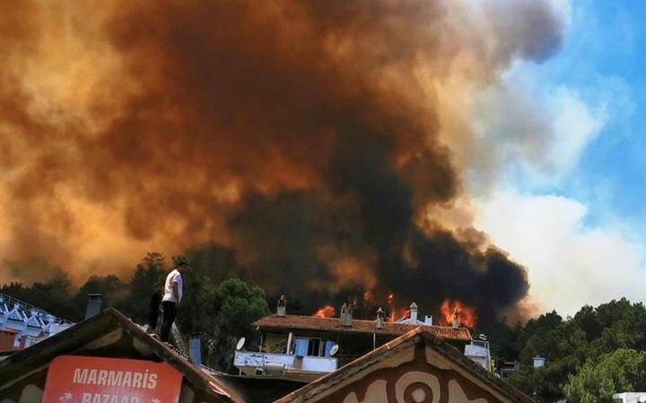 Türkiye'yi saran orman yangınına ünlülerden tepki! Sosyal medyada isyan!