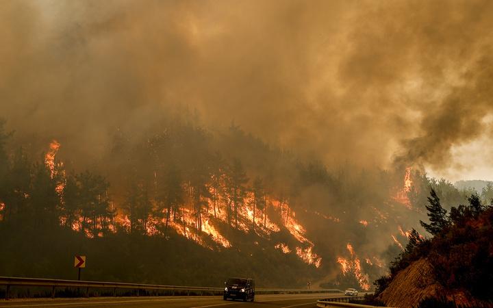 Manavgat yangınında son durum! Bu fotoğraflar yeni geldi dehşet görüntüler