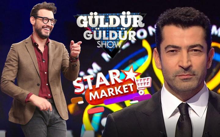 Masterchef şaşırttı Milyoner Star Market Güldür Güldür'e fark attı! Reytingde zirve bakın kimin oldu
