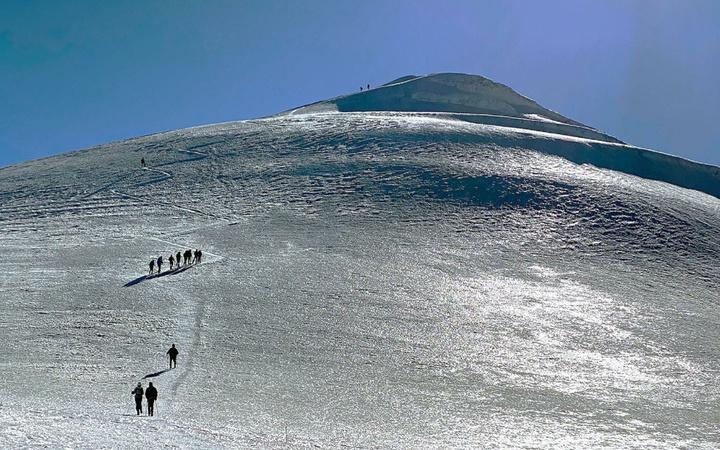 Türkiye'nin çatısı Ağrı Dağı'nın buzulları eriyor
