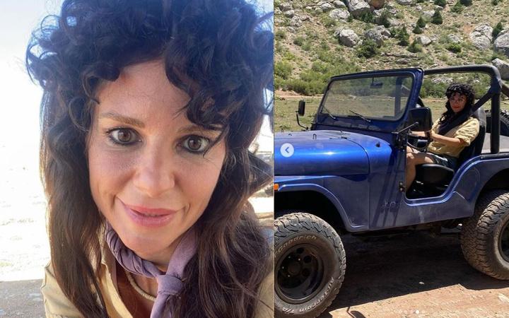 Burcu Çetinkaya'nın siyah peruğu sosyal medyadan tam not aldı