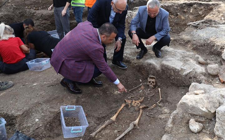 Ordu'da 2 bin yıllık olduğu tahmin edilen ikinci lahit açıldı içinden bakın neler çıktı?