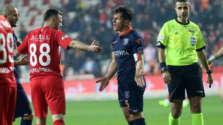 Antalyaspor Başakşehir maçı golleri ve geniş özeti