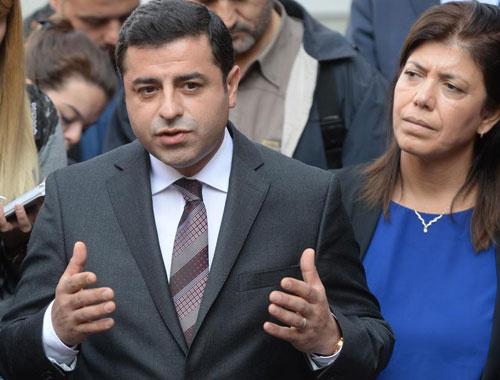 Demirtaş'tan Leyla Zana'nın çağrısına cevap