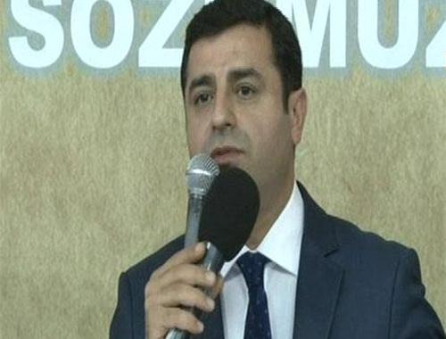 Demirtaş'tan Davutoğlu'na 'beyaz Toros' cevabı!