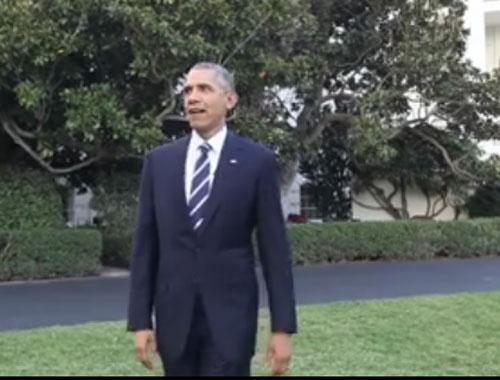 Obama Facebook hesabı açtı, ilk paylaşımı video oldu
