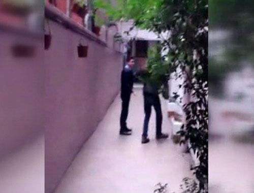 Üniversite öğrencilerini tokatlayan polisler böyle görüntülendi