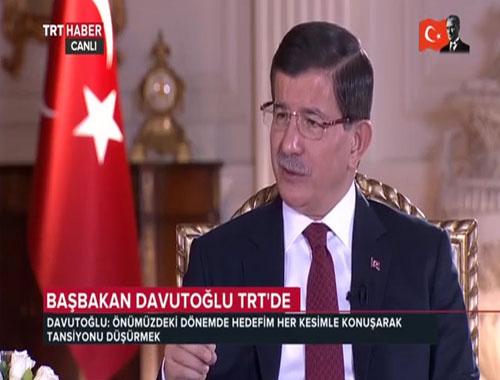 Başbakan Davutoğlu önemli açıklamalarda  bulundu