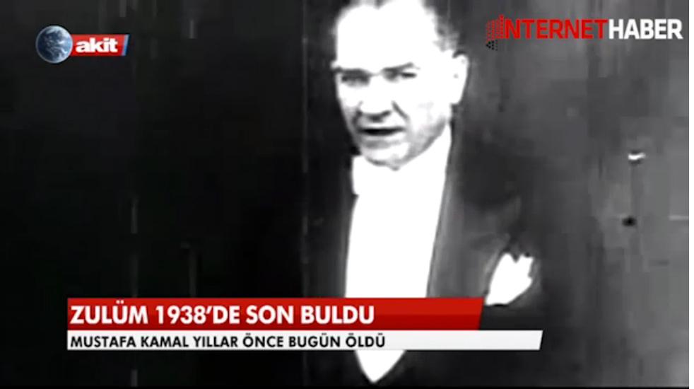 Akit'in Atatürk skandalına RTÜK'ten cevap!