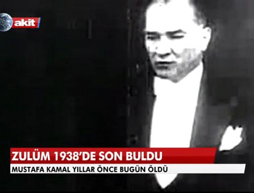 Atatürk'e hakaret eden AKİT için RTÜK kararı!