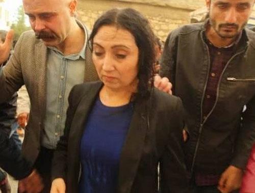 Figen Yüksekdağ'a polis müdahalesi