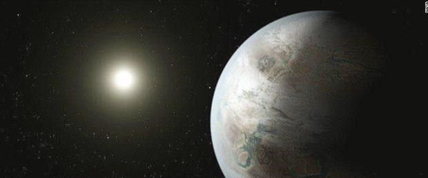 Gökbilimciler bebek gezegeni görüntüledi