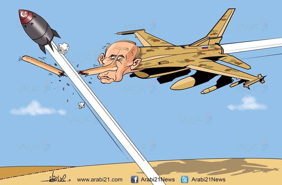 Arap medyası Putin'le fena dalga geçti