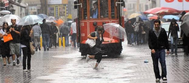 İstanbul son hava tahmini meteoroloji uyardı