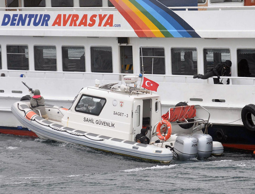 Marmara Denizi'nde tatbikat