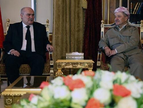 Dışişleri Bakanı ve Barzani görüşmesinde sıcak mesajlar!