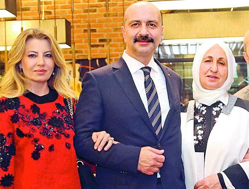 Akın İpek'in karısı Nevin İpek saydırdı